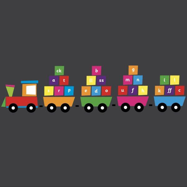 Phonics Train Small Playground Marking