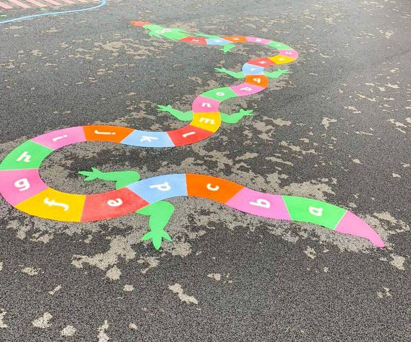 A-Z-Dragon-Playground-Marking