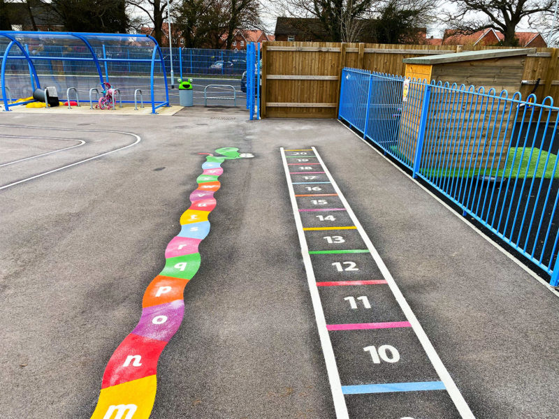 A-Z-Snake-and-Number-Ladder-Playground-Marking