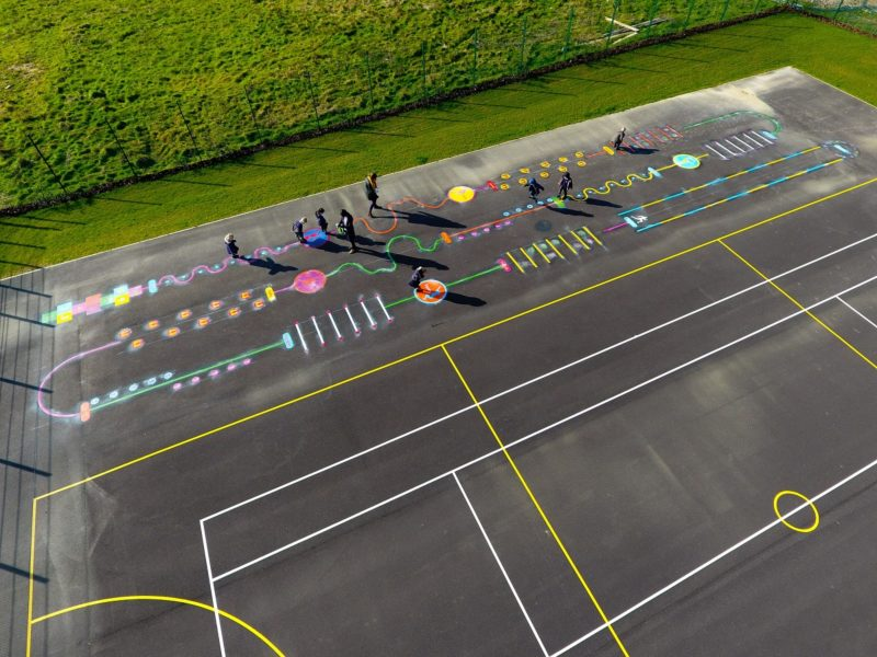 Boorley-Park-Primary-School-Deluxe-Fun-and-Active-Trail-Playground-Marking-Hampshire-min