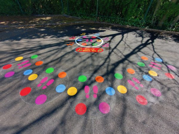 Clifford-All-Saints-Primary-Dance-With-Me-Playground-Marking
