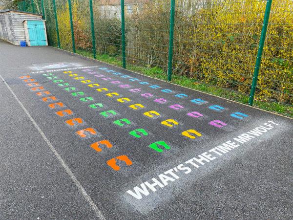 Colindale-Primary-School-Mr-Wolf-Playground-Marking