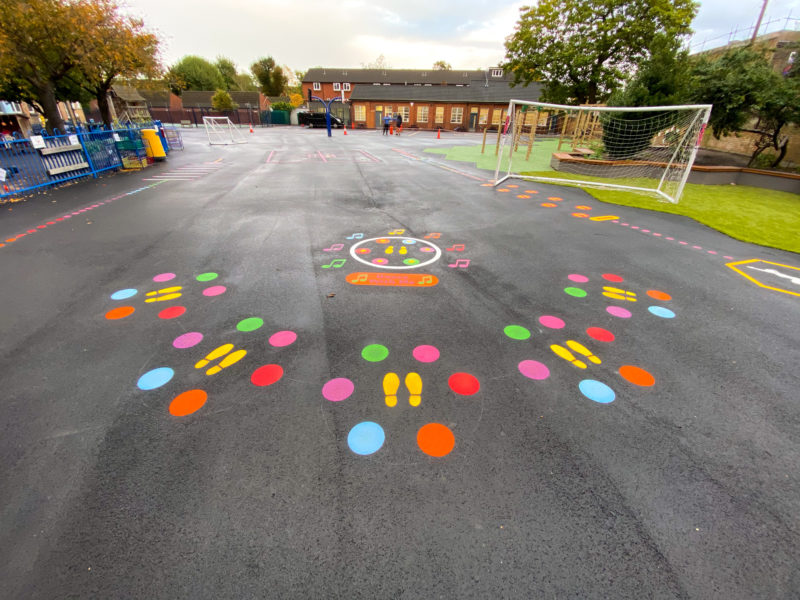 Dance-With-Me-Playground-Marking