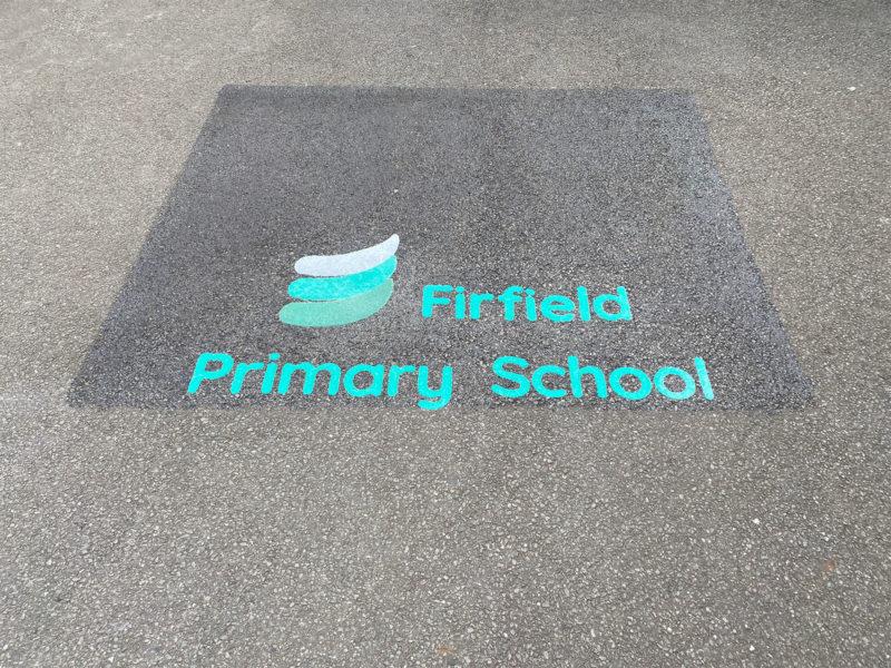 Firfield-Primary-School-Logo-Playground-Marking