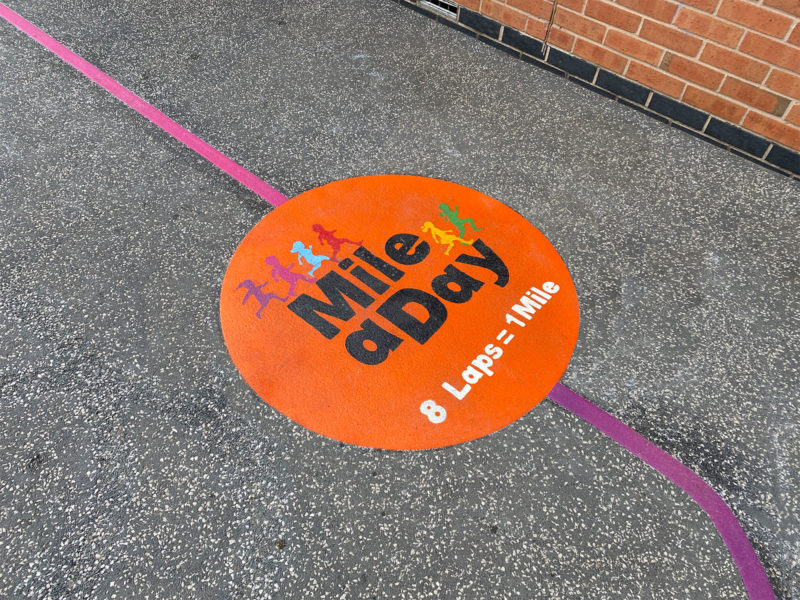 Firfield-Primary-School-Mile-A-Day-Playground-Marking