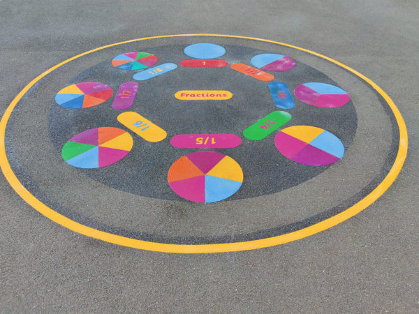 Fractions-Circle-Playground-Marking