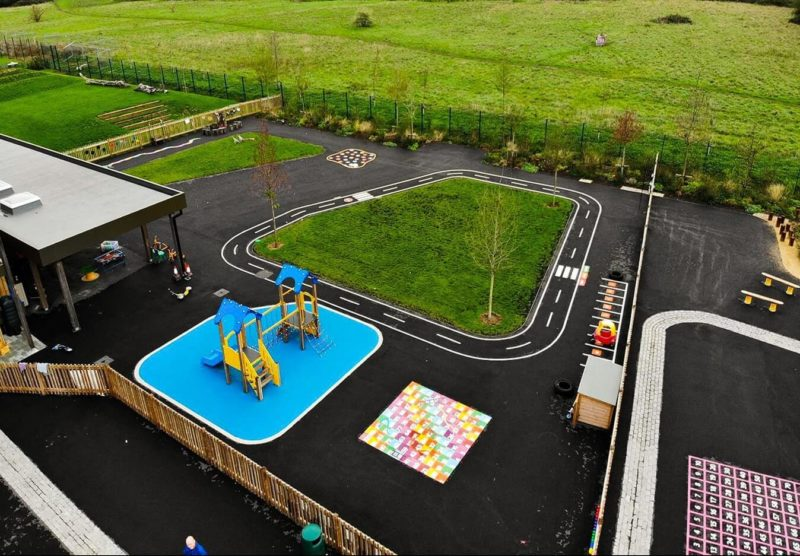 Hackbridge-Primary-School-Playground-Marking-Surrey