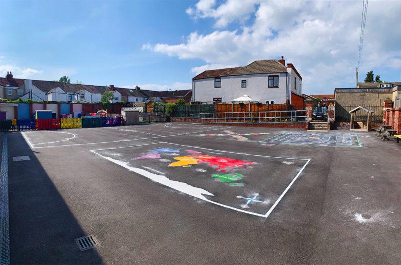 Haselworth-Primary-School-Playground-Marking-Hampshire
