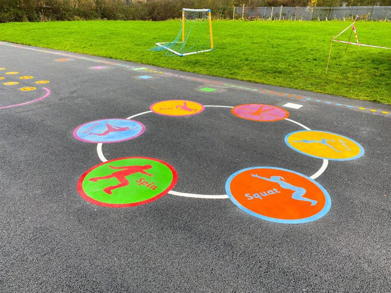 Holy-Spirit-Catholic-School-Playground-Marking-Cheshire