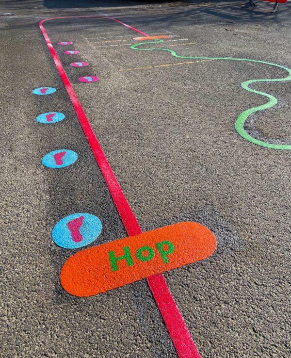 Hop-Station-Playground-Marking
