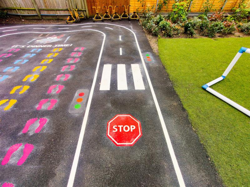 Hoxton-Gardens-Primary-School-Roadway-Playground-Marking (2)