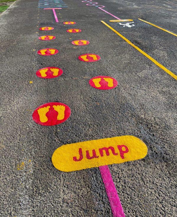 Jump-Station-Playground-Marking