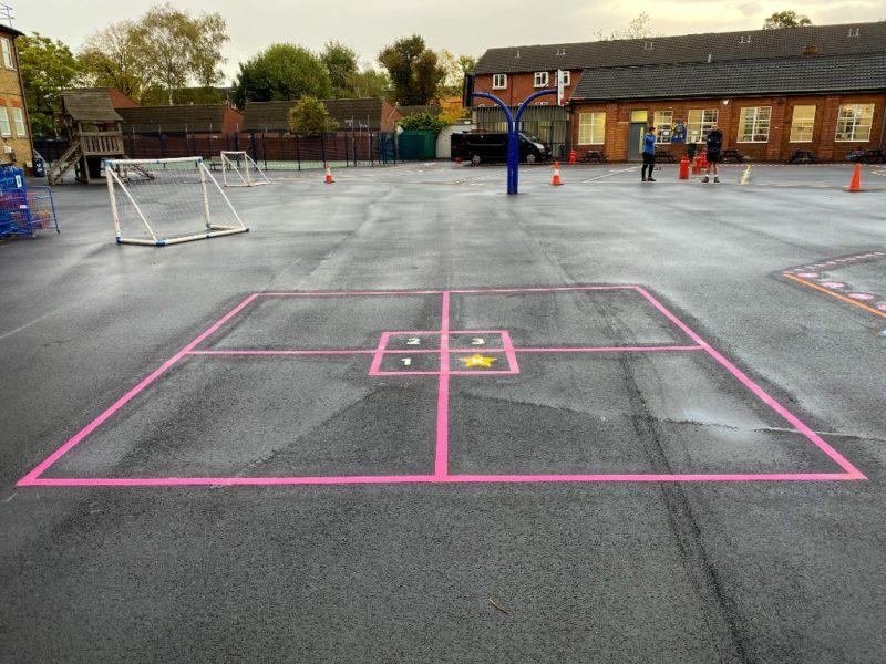 King-Square-Playground-Marking