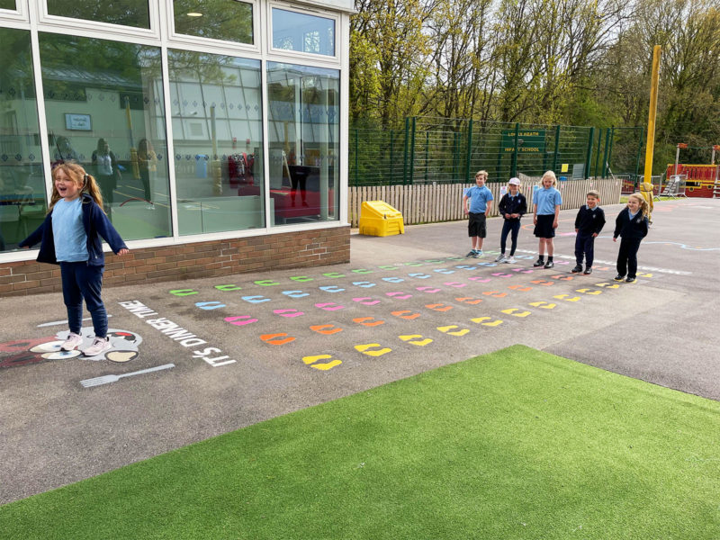 Locks-Heath-Infant-School-Mr-Wolf-Playground-Marking
