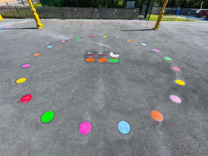 Locks-Heath-Infants-School-Duck-Duck-Goose-Playground-Marking