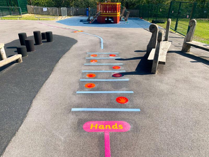 Locks-Heath-Infants-School-Hands-Station-Playground-Marking
