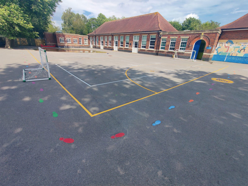 Northern-Parade-Court-Playground-Marking