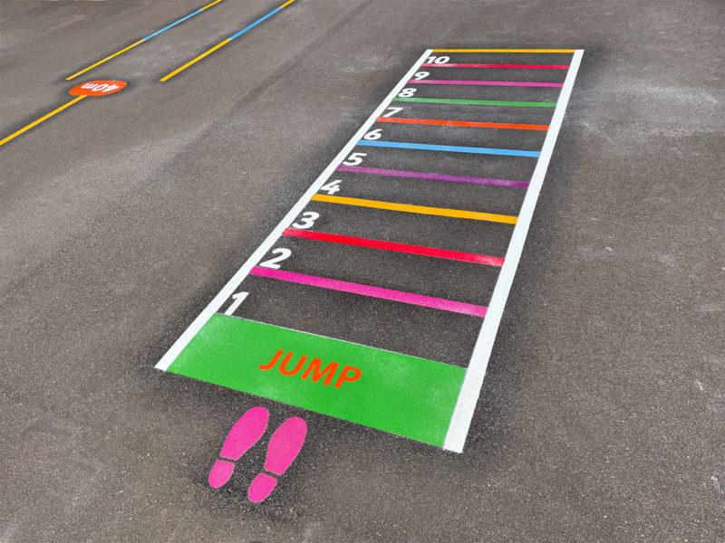 Norwood-Primary-Jump-Game-Playground-Marking
