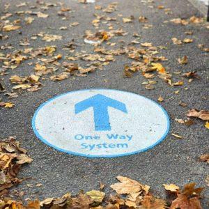One Way Arrow