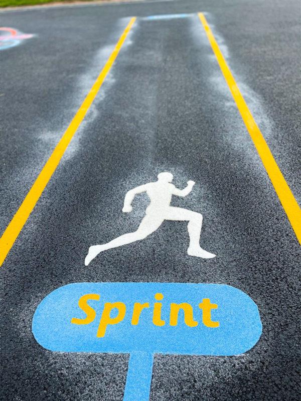 Perton-Primary-Academy-Sprint-Station-Playground-Marking