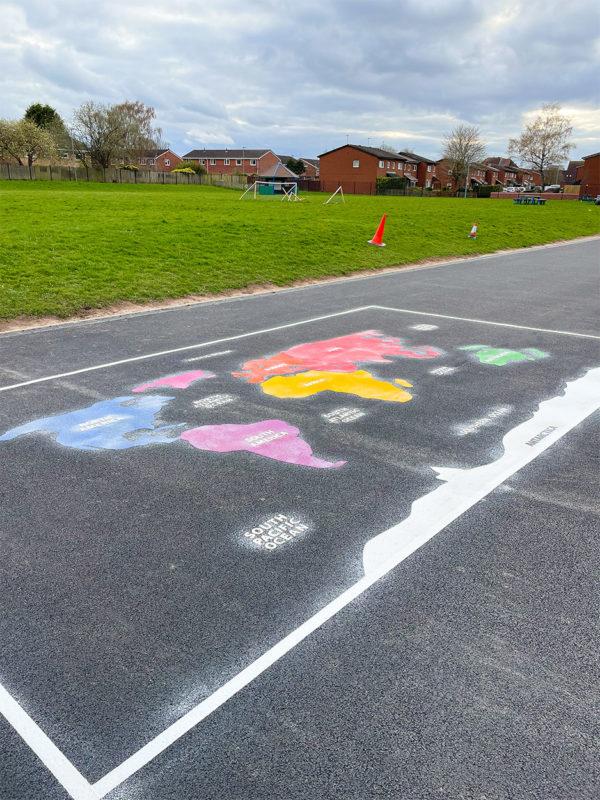 Perton-Primary-Academy-World-Map-Playground-Marking