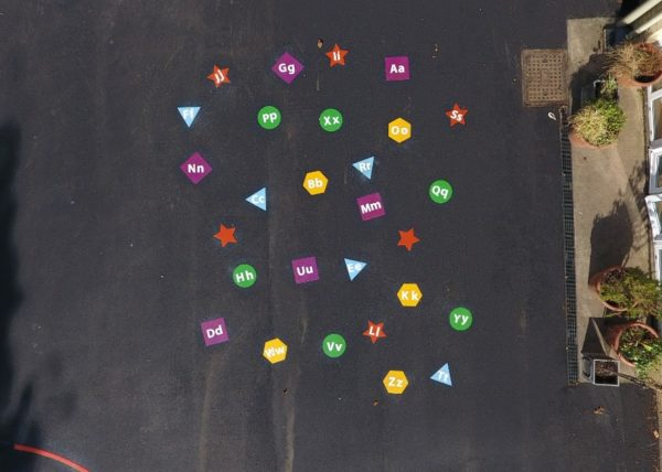 Phonics-Shapes-Playground-Marking