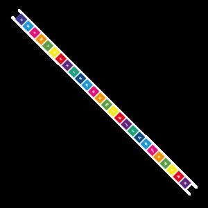 Playground Marking Alphabet Ladder Solid