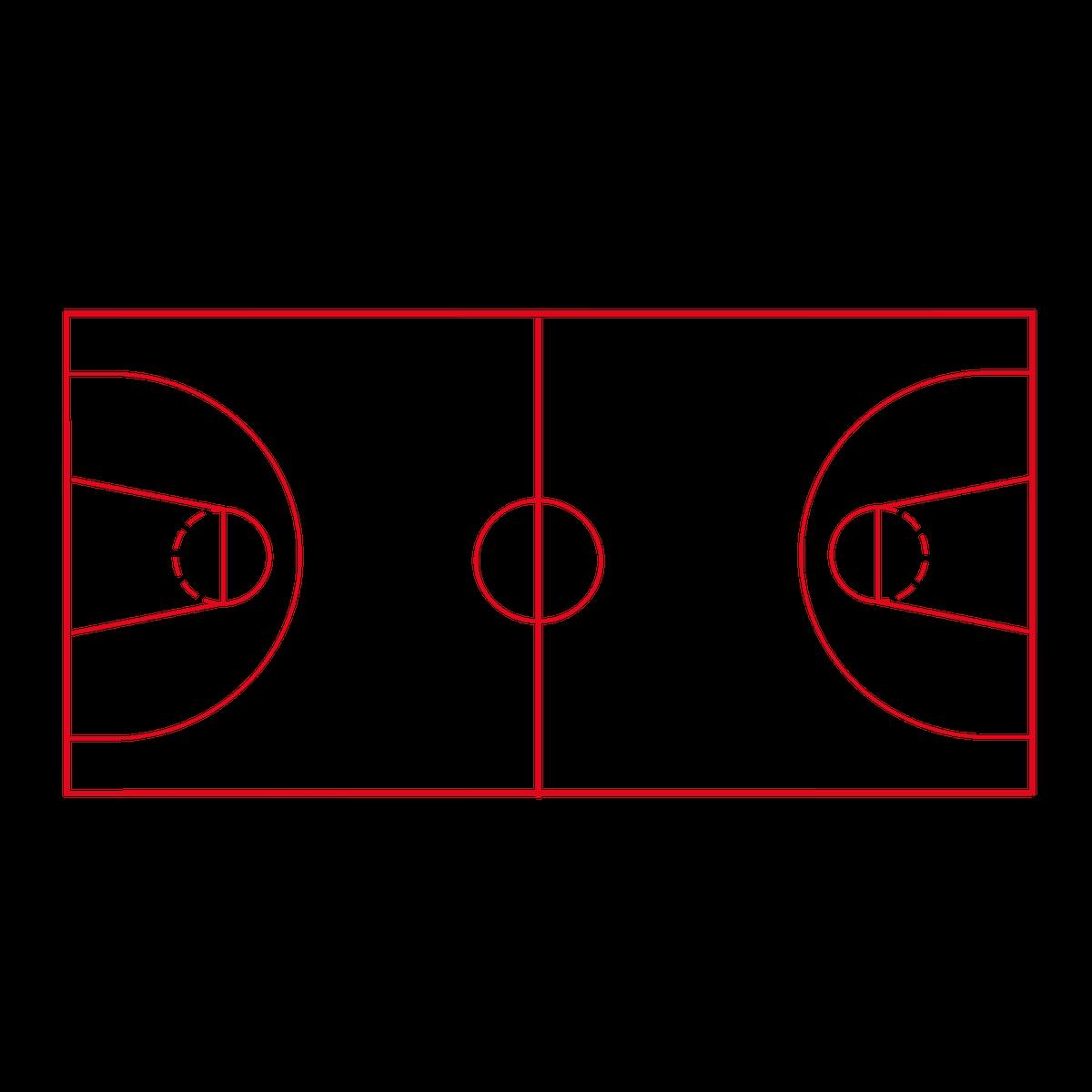 Playground Marking Basketball Court