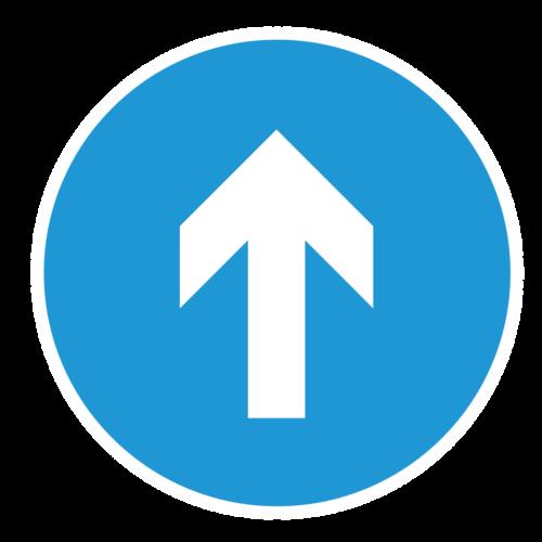 Playground-Marking-Blue-Arrow-Social-Distance-Marker
