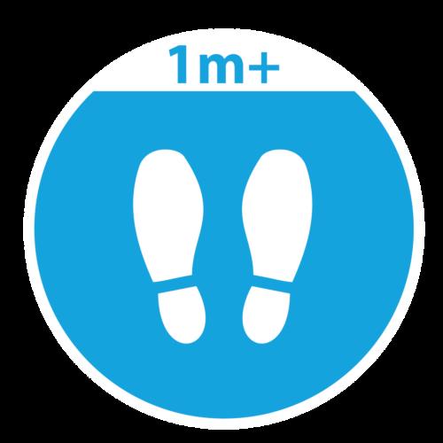 Playground-Marking-Blue-Footprints-1m-Social-Distance-Marker