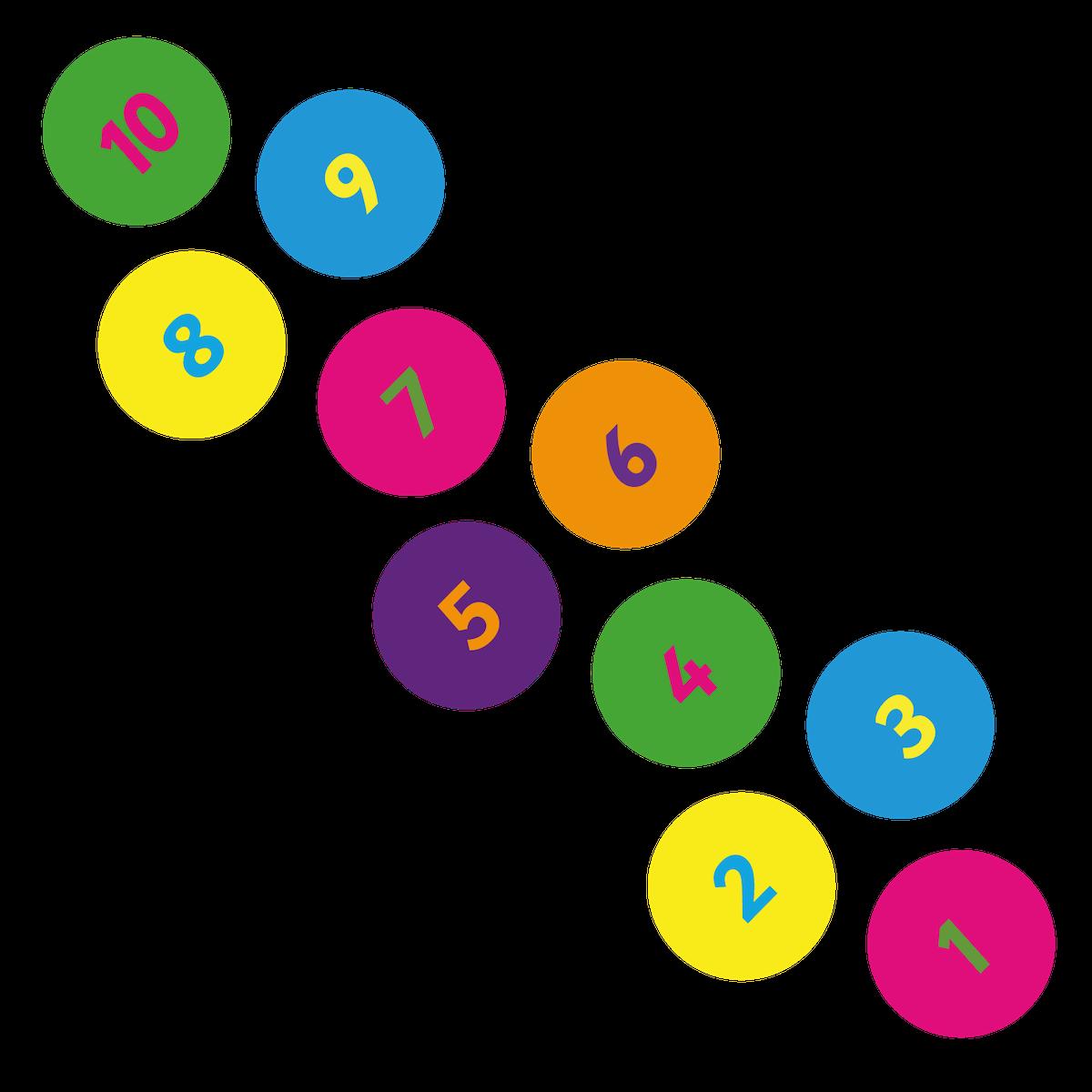 Playground Marking Circle Hopscotch