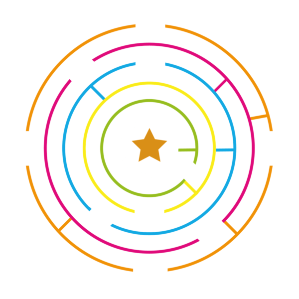 Playground-Marking-Circular-Maze