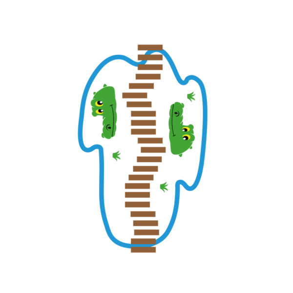 Playground-Marking-Crocodile-Station