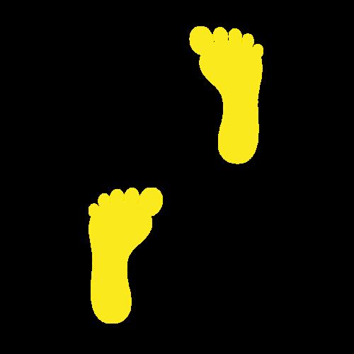 Playground-Marking-Footprints
