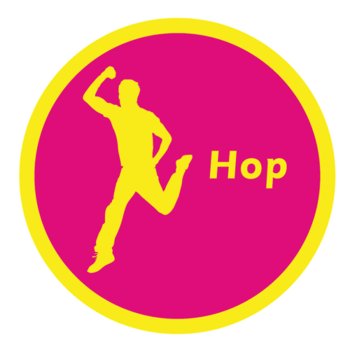 Playground Marking Hop Solid Active Spot