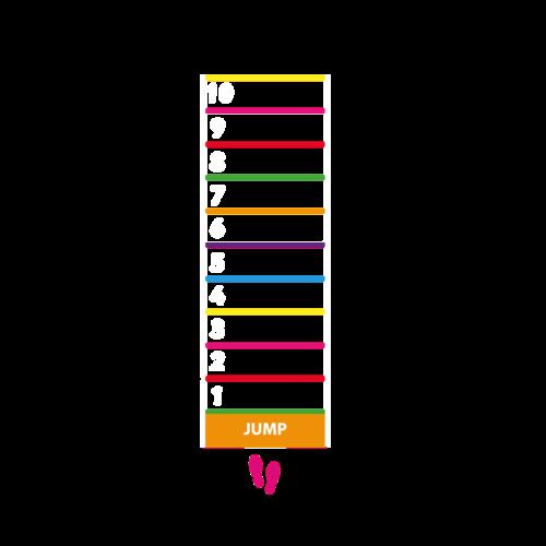 Playground Marking Jump Game