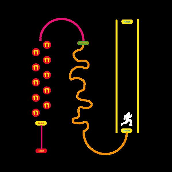 Playground-Marking-Mini-Trail