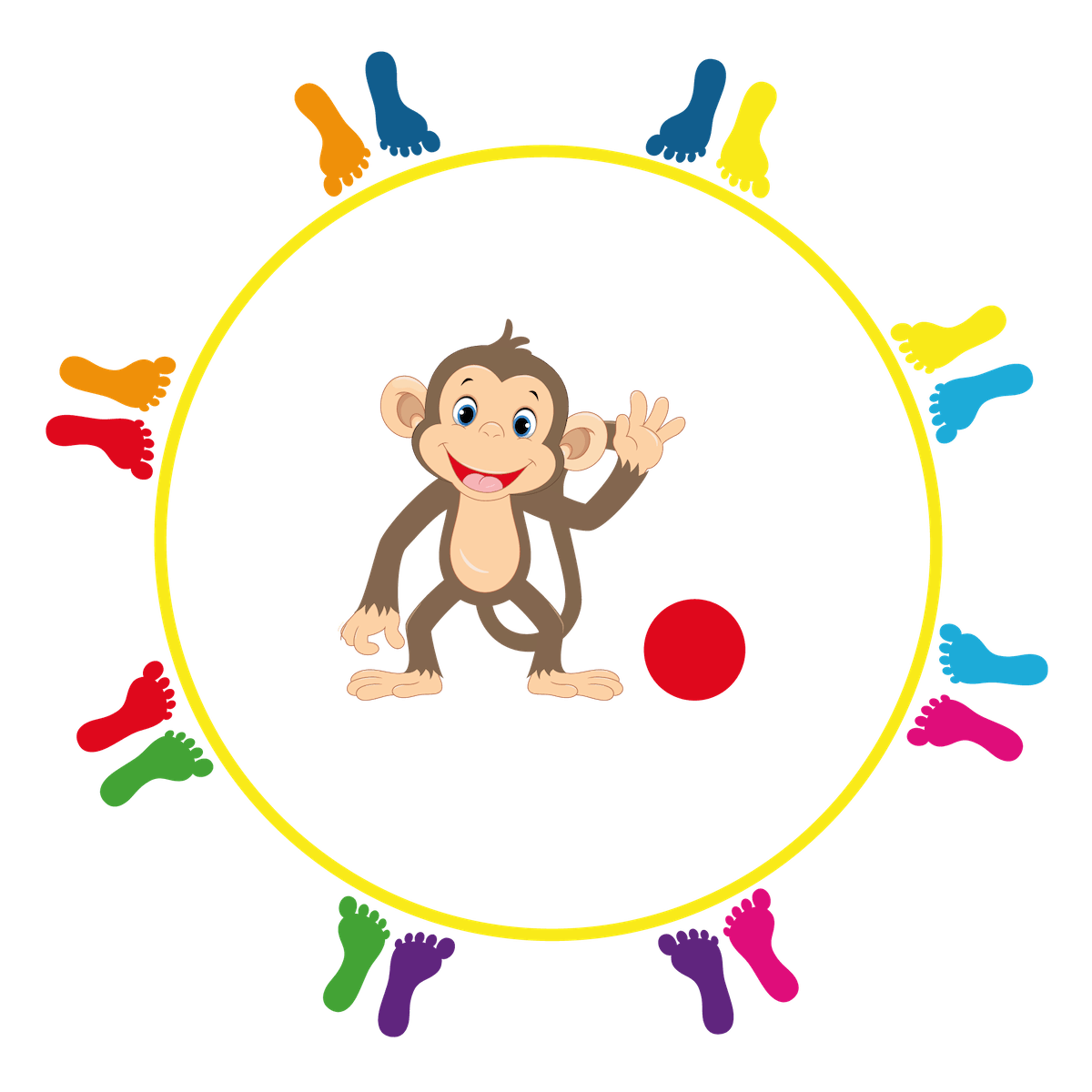 Playground Marking Monkey Ball
