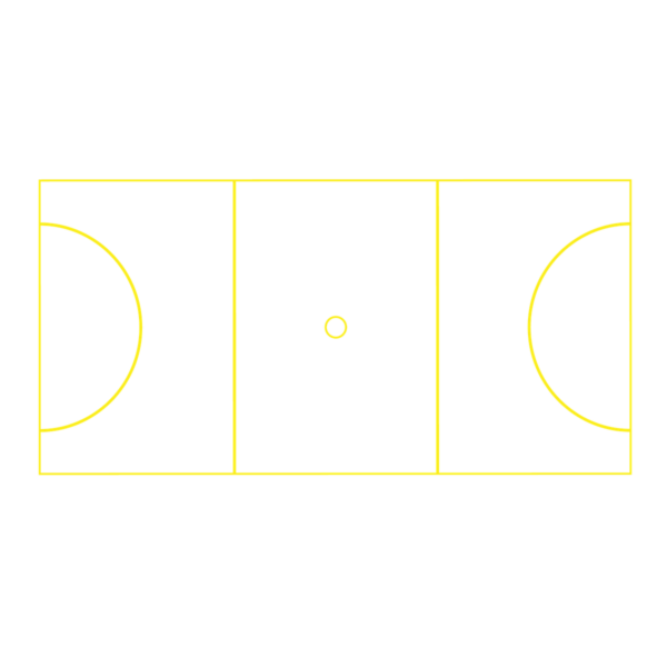 Playground Marking Netball Court