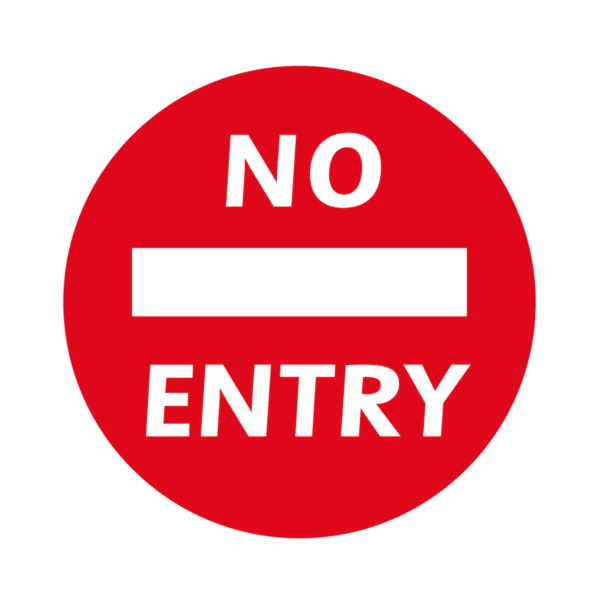 Playground-Marking-No-Entry