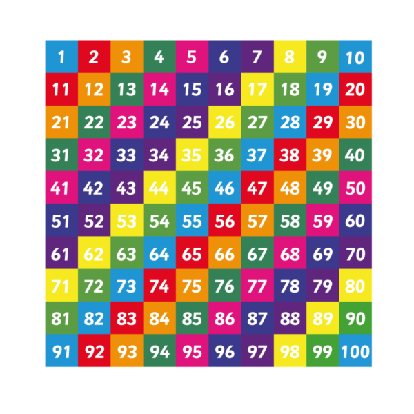 Playground Marking Number Grid 1-100 Solid