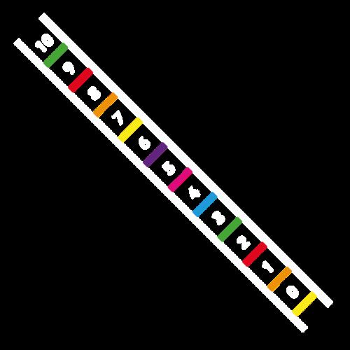 Playground-Marking-Number-Ladder-0-10-Outline