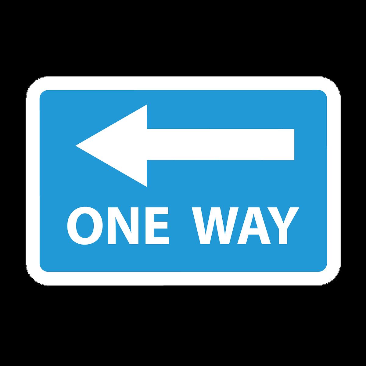Playground Marking One Way