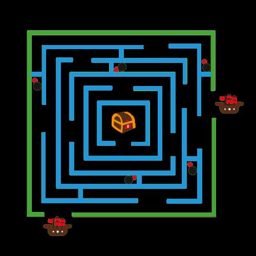 Playground-Marking-Pirate-Maze