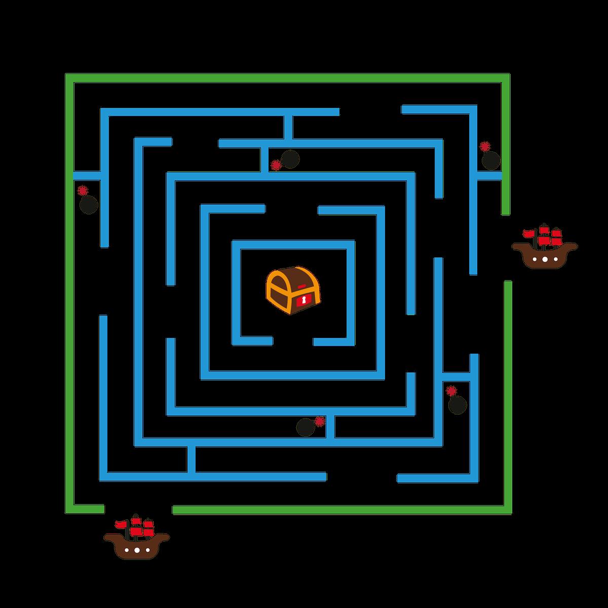 Playground Marking Pirate Maze