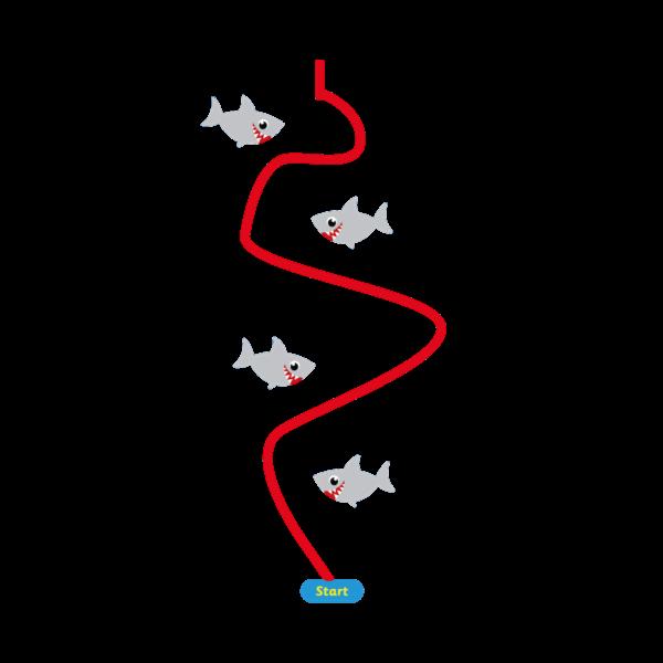Playground-Marking-Sharks-Station