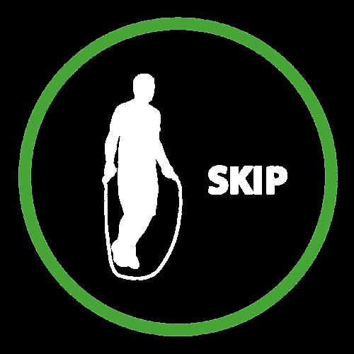Playground Marking Skip Outline Active Spot