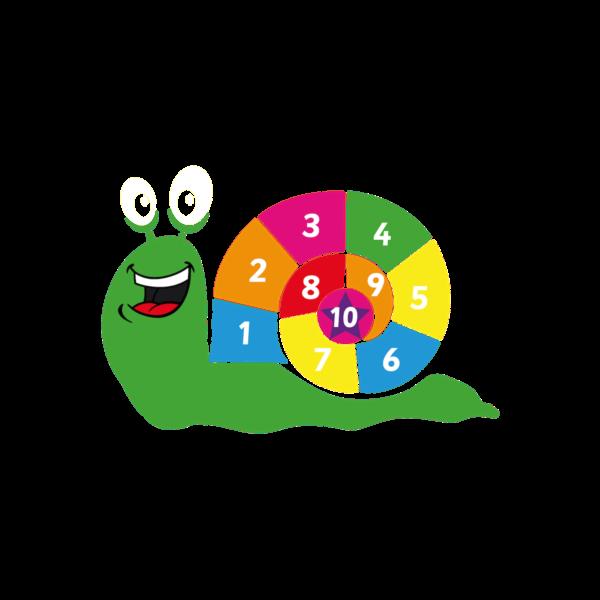 Playground Marking Snail 1-10