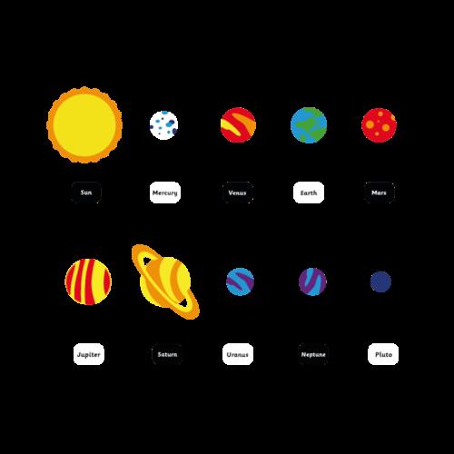 Playground-Marking-Solar-System