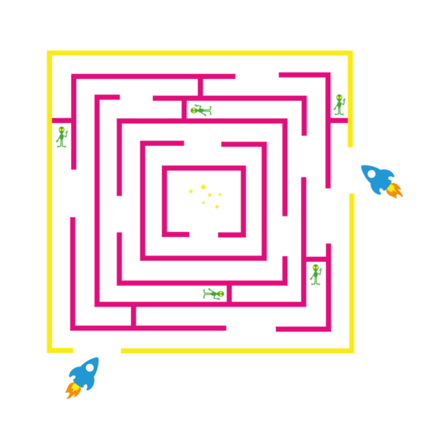 Playground-Marking-Space-Maze